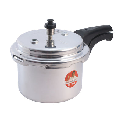Ultima Induction Base Aluminium Pressure Cooker With Outer Lid-Cookers