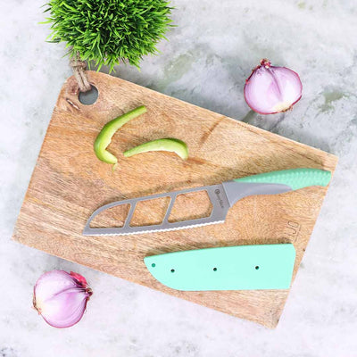 Easy Slice knife 6 inches - Green-Kitchen Accessories