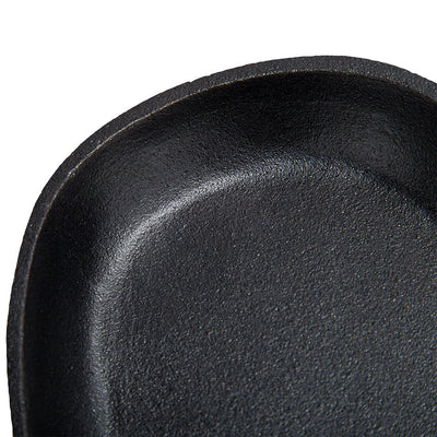 Wonderchef Ferro Cast-Iron Sizzler Plate- 23cm, Black-Cookware
