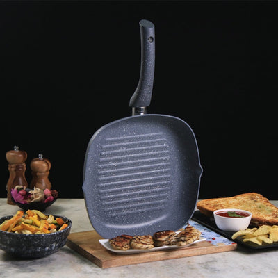 Wonderchef Granite Range Grill Pan-Cookware