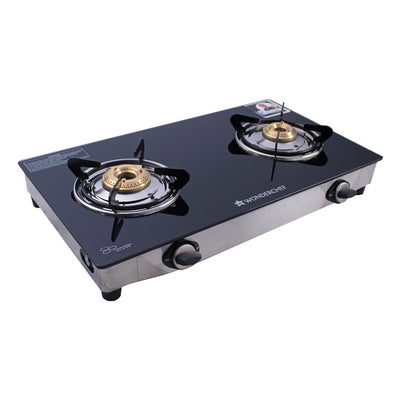 Ruby 2 Burner Glass Cooktop-Cooktops