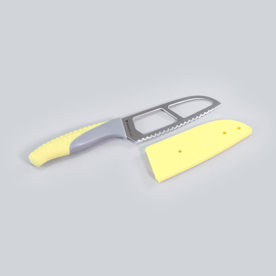 Easy Slice Knife 4 inches - Yellow