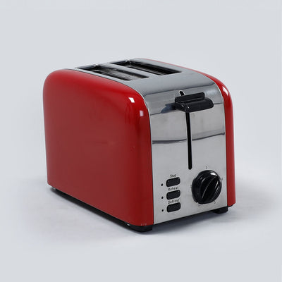 Wonderchef Pop Up 2 Slice Toaster Crimson Edge, 5 Browning Controls, Removable Crumb Tray, 2 Years Warranty, 850W, Red-Appliances