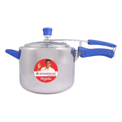 Wonderchef  Nigella Inner Lid Pressure Cooker SS Regular 5L