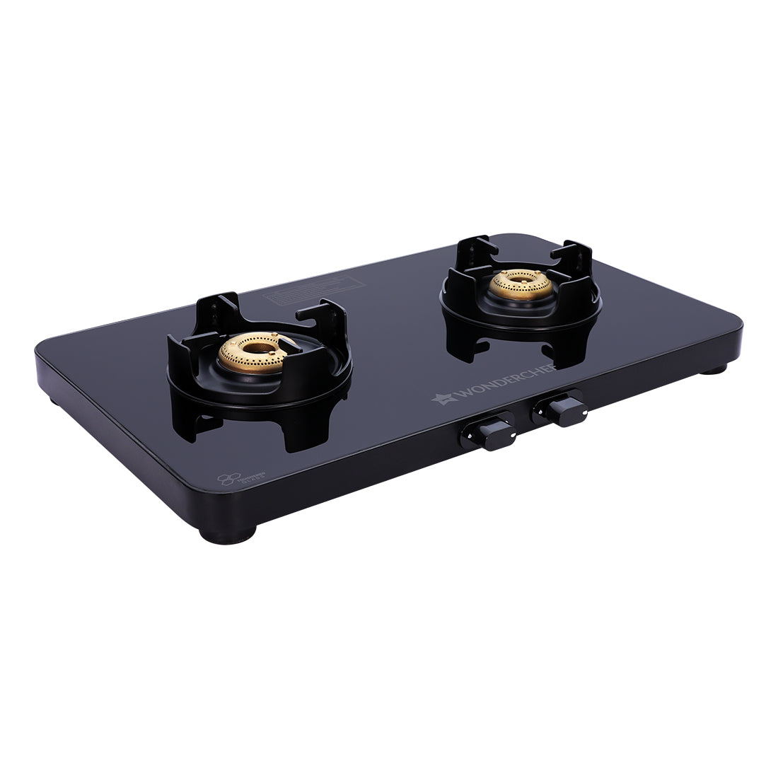 Slimline  2 Burner Glass Cooktop