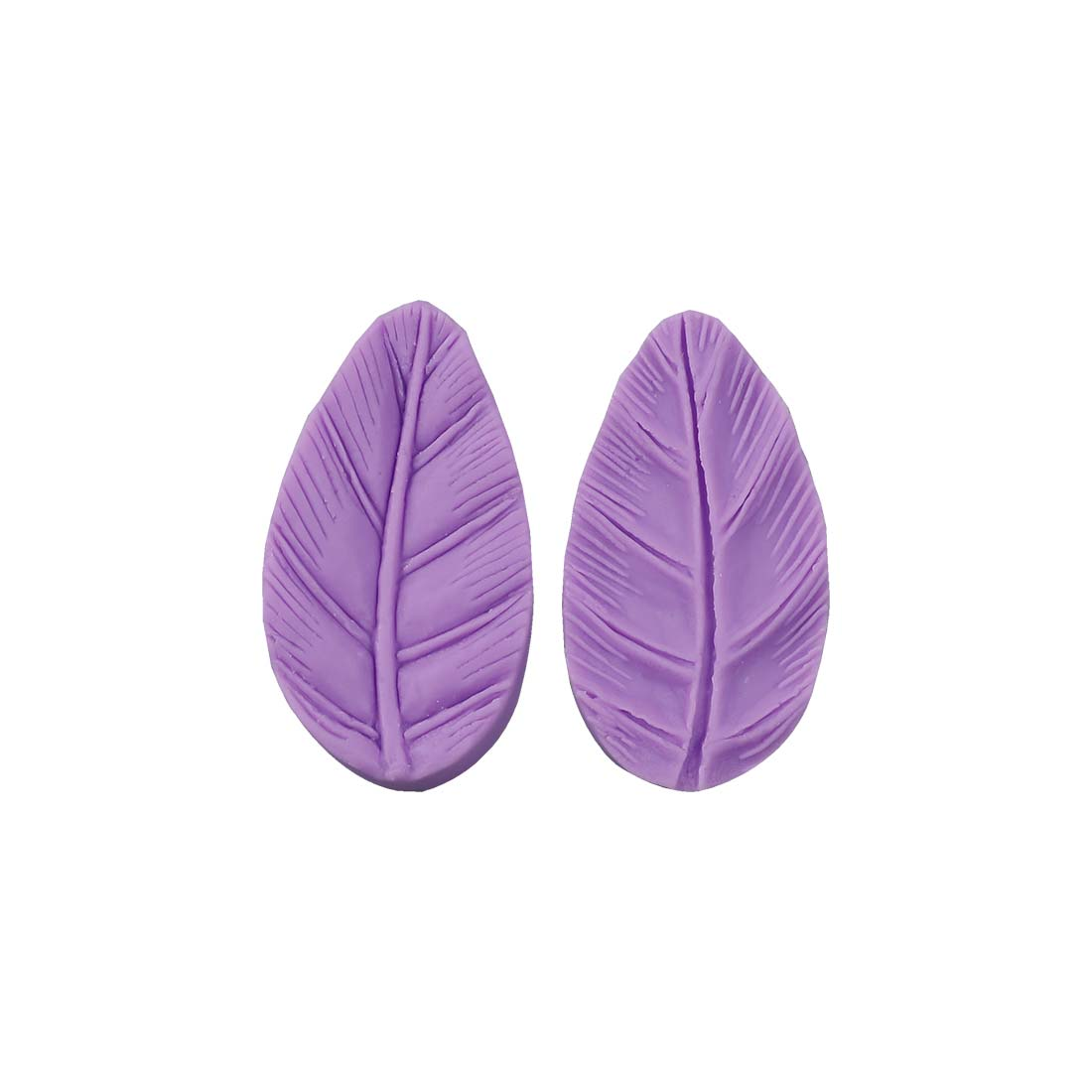 Ambrosia Leaf Shaped Silicone Fondant Impression Mould, Cake Decorating Tool, Dishwasher-Microwave-Oven-Freezer Safe