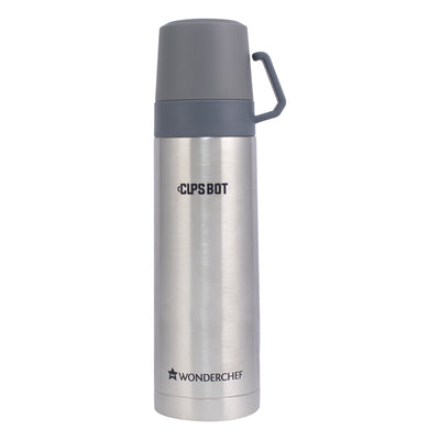 Wonderchef Cups-Bot Double Wall Bottle Stainless Steel-Flasks
