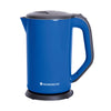 Luxe Automatic Stainless Steel 1.7L Electric Kettle, 1800W, Blue
