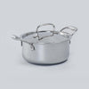 Nigella 3-ply Stainless Steel Casserole-20cm, 3L, 2.6mm