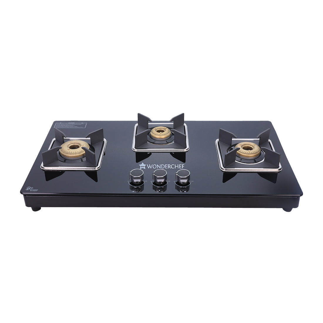 Octavia 3 Burner Glass Hob Top Cooktop