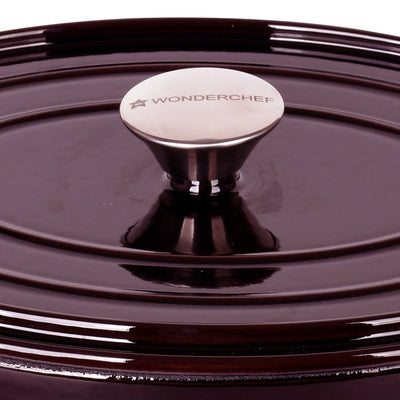 Wonderchef Ferro Cast-Iron - Oval Casserole With Lid-Cookware