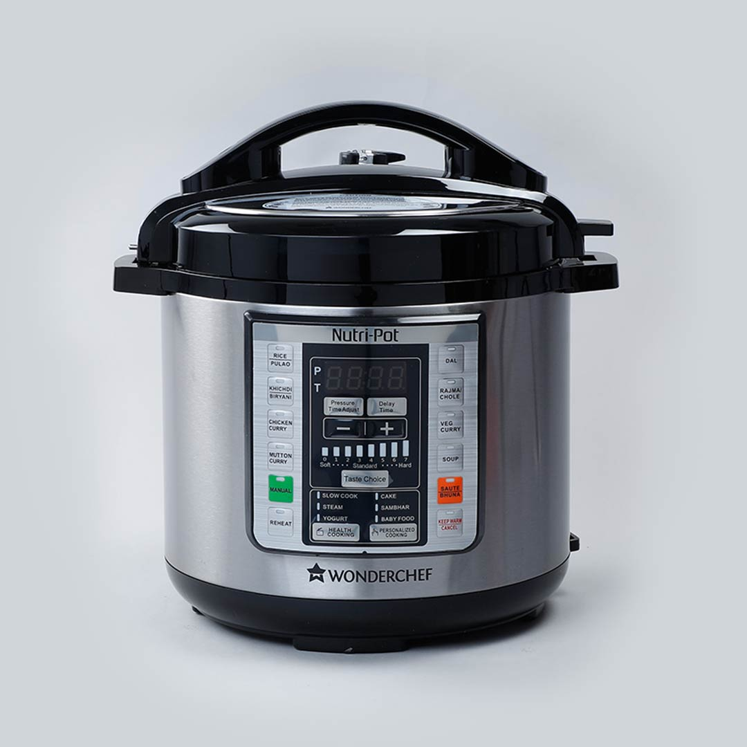 Nutri-pot Electric Pressure Cooker with 304 Stainless Steel pot, 6L