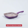 Royal Velvet Aluminium Nonstick Grill Pan- 2.5mm, Purple