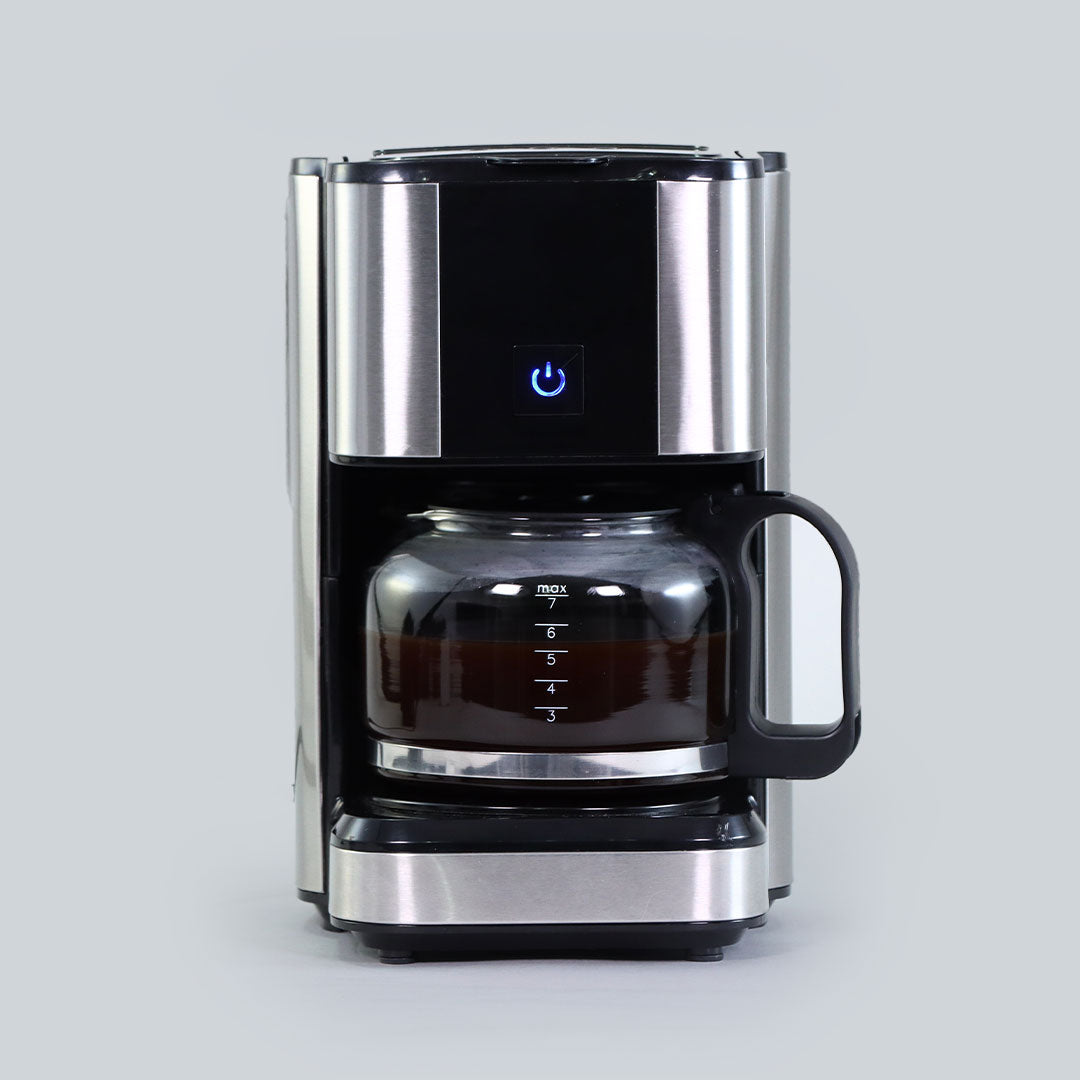 Regalia Brew Coffee Maker, Makes 7 Cups Coffee, Removable Filter, with Keep Warm Plate, 2 Years Warranty, 700ml, 550W - Black
