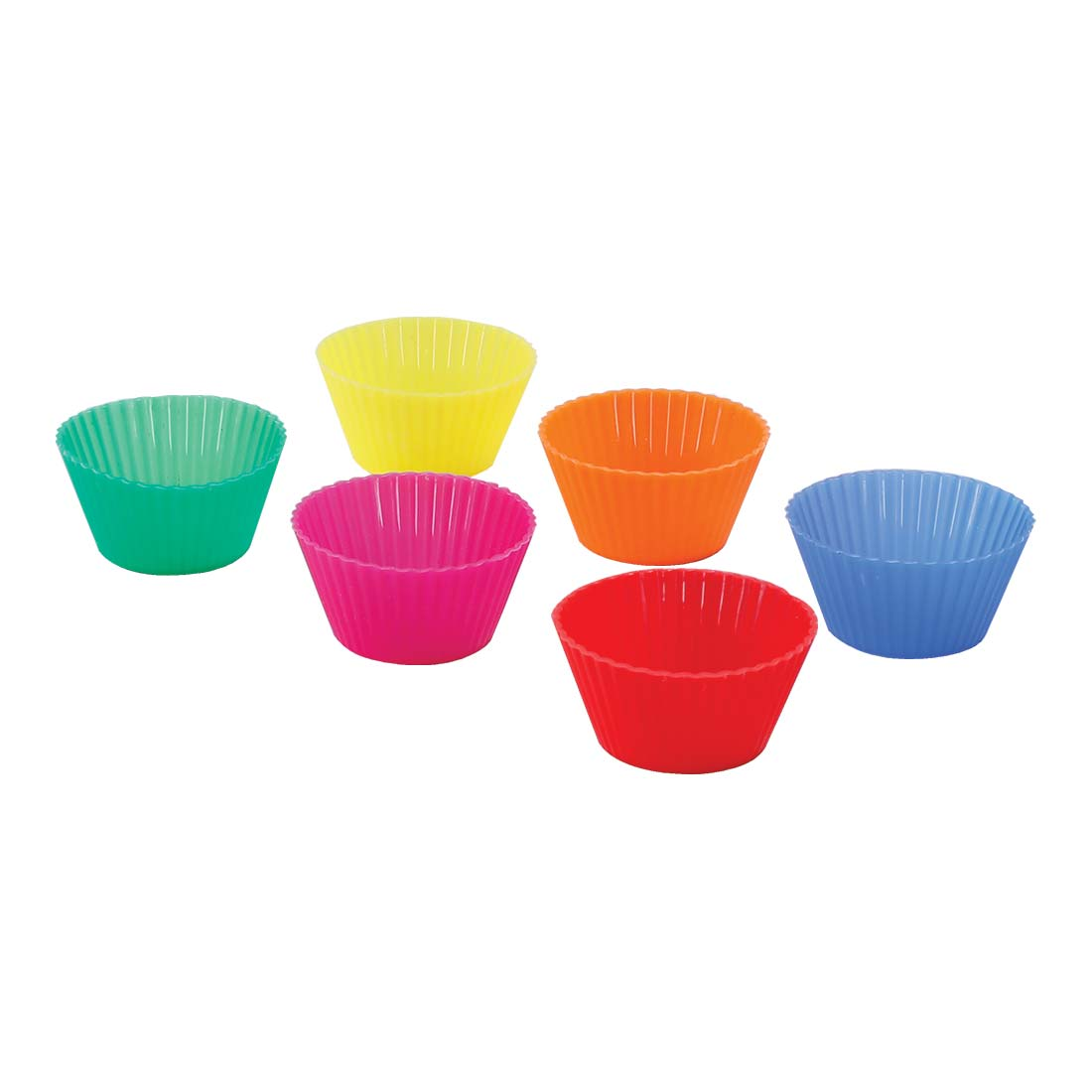 Ambrosia Cup Cake Moulds, Lightweight, Flexible, Food-Grade Silicone, 100% Eco-Friendly, Dishwasher Safe
