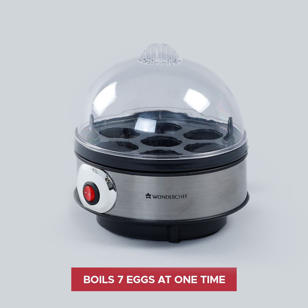 Egg Boiler with 7 Egg Poacher, 350W
