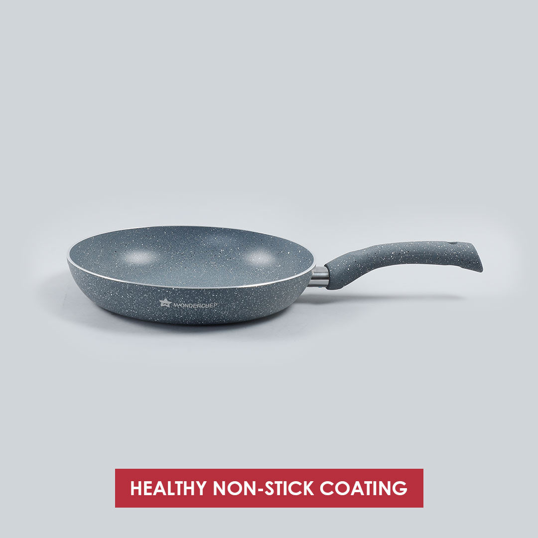 Granite Aluminium Nonstick Frying Pan 3.5mm, Grey