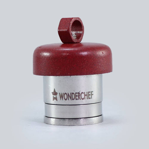 Health Guard Outer Lid Pressure Cooker 5 Litres, Maroon - Whistle