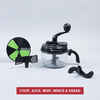Turbo Chopper with Atta Kneader Attachment-Kitchen Tools