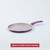 Royal Velvet Aluminium Nonstick Dosa Tawa 25cm, 3mm, Purple