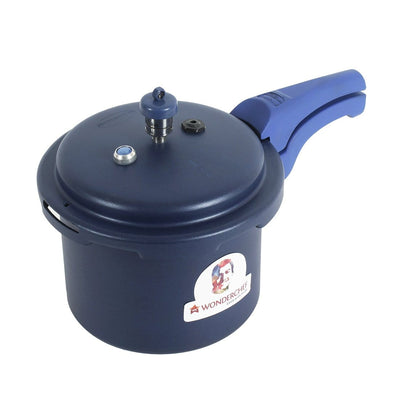 Wonderchef Health Guard Pressure Cooker Outer Lid 3L - Blue-Cookware
