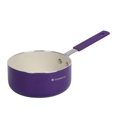 Wonderchef Piccolo Sauce Pan Purple 14Cm