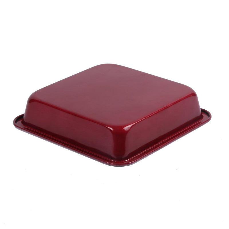 Wonderchef Carbon Steel Square Cake Mould 23Cm