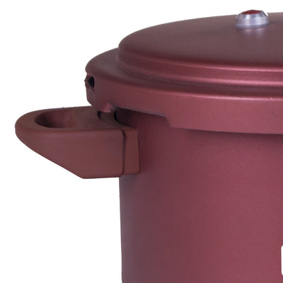 Wonderchef Health Guard Pressure Cooker Outer Lid 5L - Maroon-Cookware