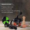 Turbo Chopper And Citrus Juicer-Kitchen Tools