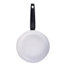 Romano Warm White Fry Pan 24cm, 1.8L, 2.5mm, White-Cookware