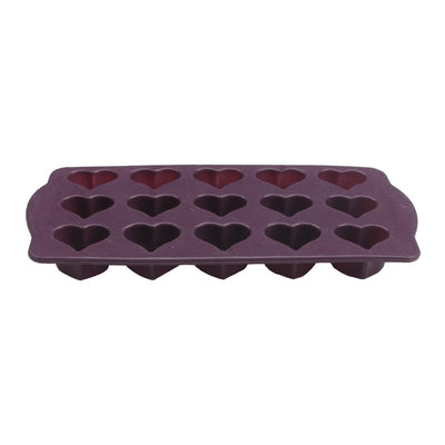 Wonderchef Silicone Heart Chocolate Mould-Bakeware