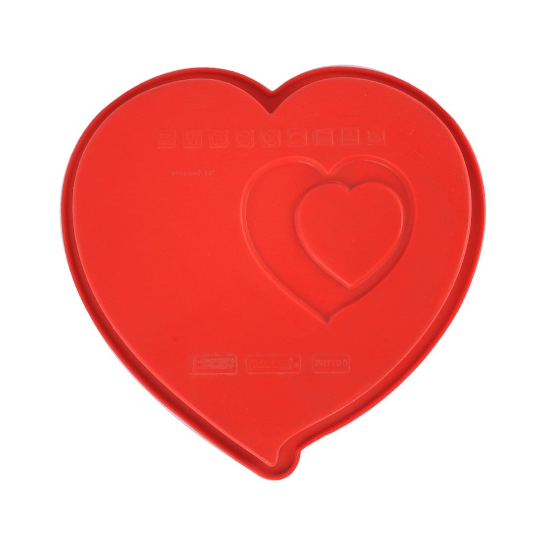Pavoni Platinum silicone Cuore Heart Shaped Cake Mould