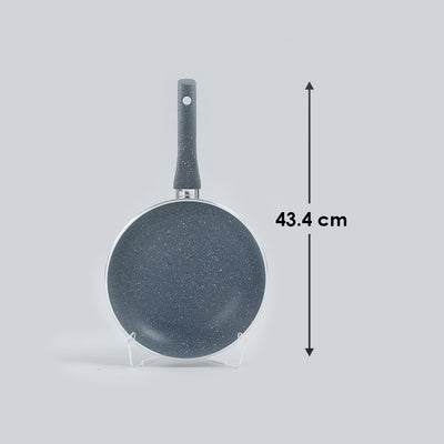 Granite Nonstick Frying Pan 3.5mm Grey-Cookware