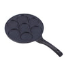 Inducta Aluminium Nonstick Multi Pan 26cm, 270ml, 3mm, Black-Cookware