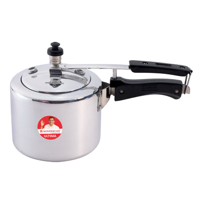 Ultima Induction Base Aluminium Pressure Cooker With inner Lid-Cookers