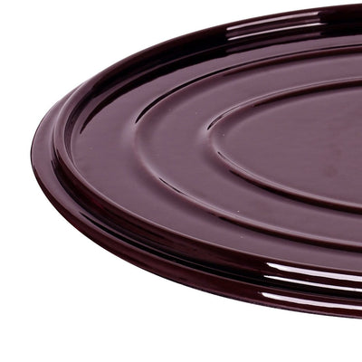 Ferro Cast-iron Oval Casserole with Lid- 29cm, 4.5mm-Cookware