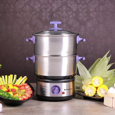 Nutri-Steamer with Egg Boiler-Appliances