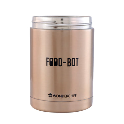 Stainless Steel Vacuum Insulated Food Bot 500 ml-Flasks