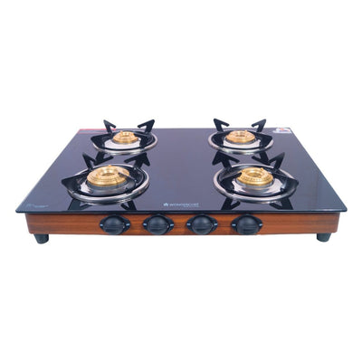Eco Star 4 Burner Glass Cooktop-Cookware