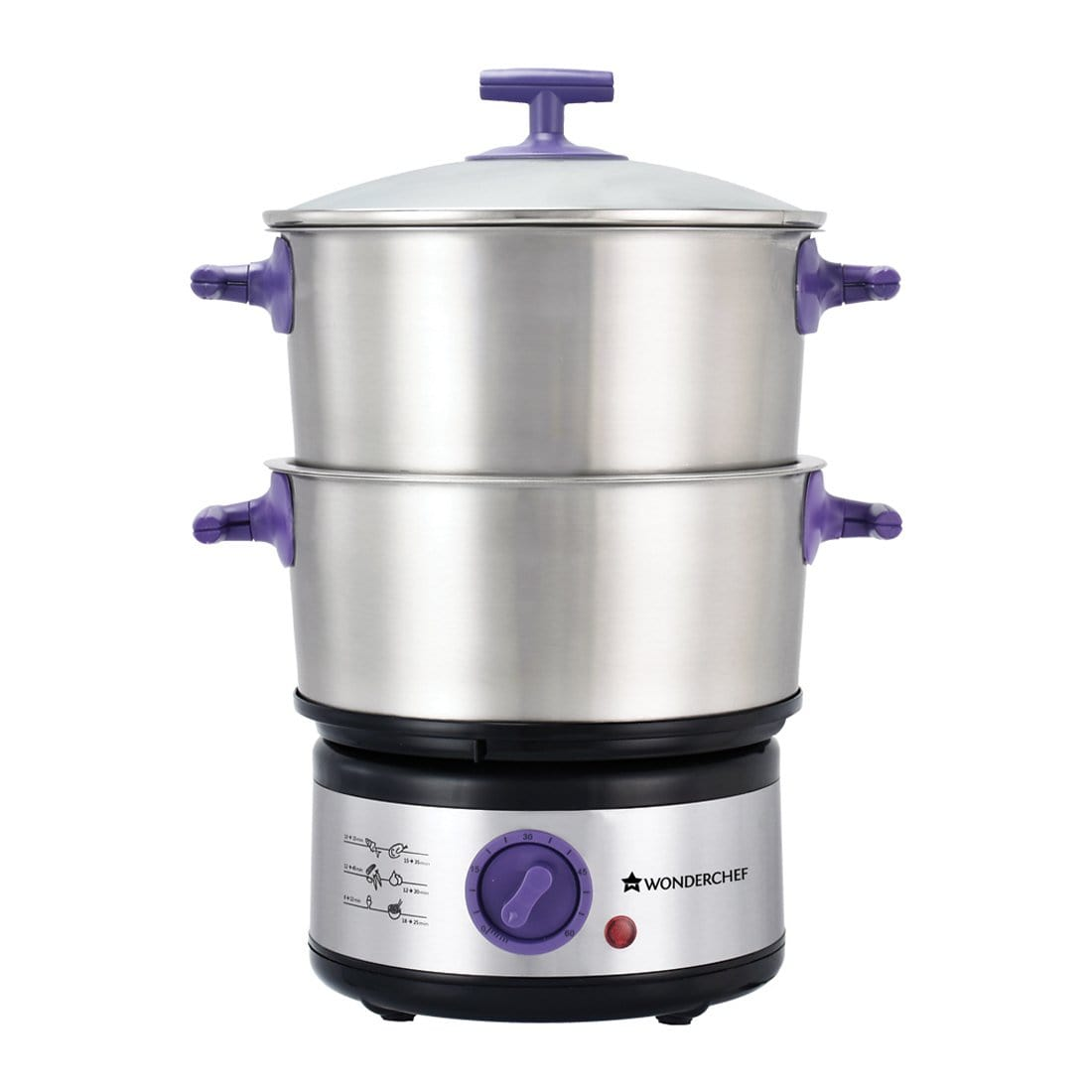 Wonderchef Nutri-Steamer with Egg Boiler-Appliances