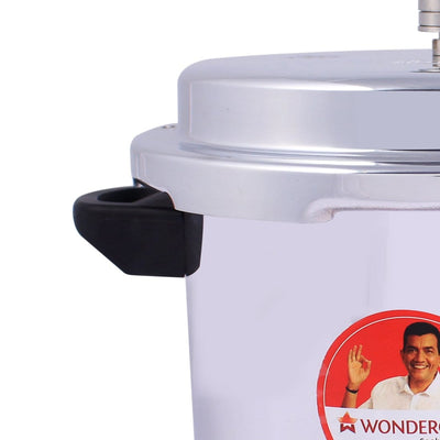 Wonderchef Power Induction Base Aluminium Pressure Cooker with Outer Lid, 5L-Cookware