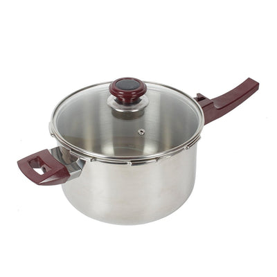 Wonderchef Secura 5 Pressure Cooker 4Ltrs (Induction Base)-Cookware