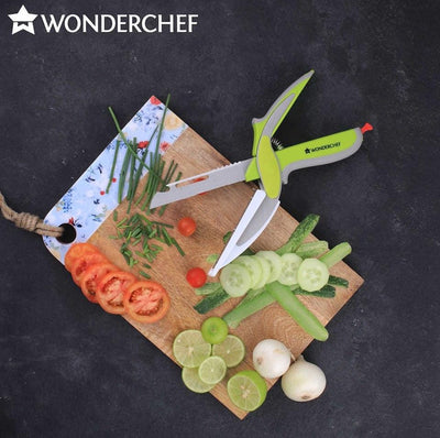 Wonderchef 6-In-1 Scissor With Smart-Support-Kitchen Accessories