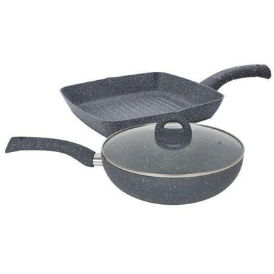 Wonderchef Granite Combo Set-Cookware