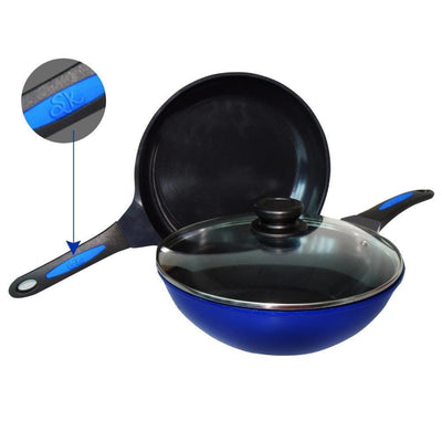 Wonderchef Ceramica Signature Series Set ( Wok + Frying Pan)-Cookware
