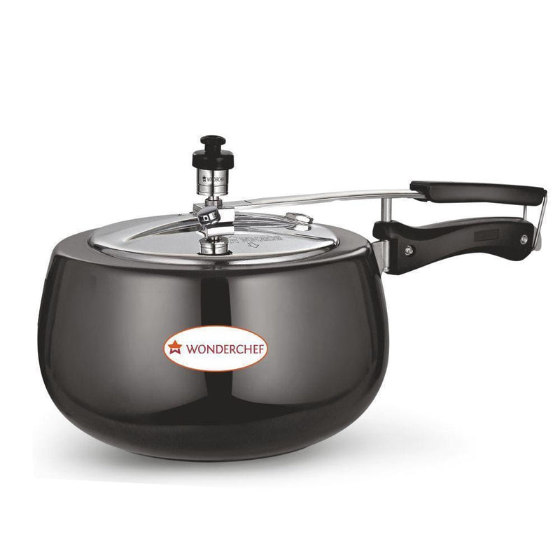 Wonderchef Raven Pressure Cooker Hard Anodized Inner SS Lid 2 Litres