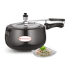 Wonderchef Raven Pressure Cooker Hard Anodized Inner SS Lid 6.5 Litres-Cookware