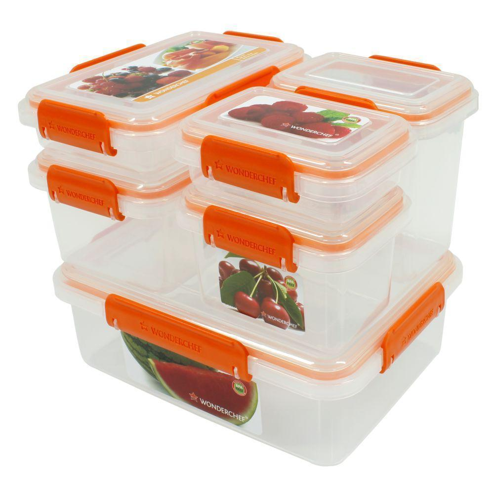 Wonderchef Lockit Container Pack Of 6