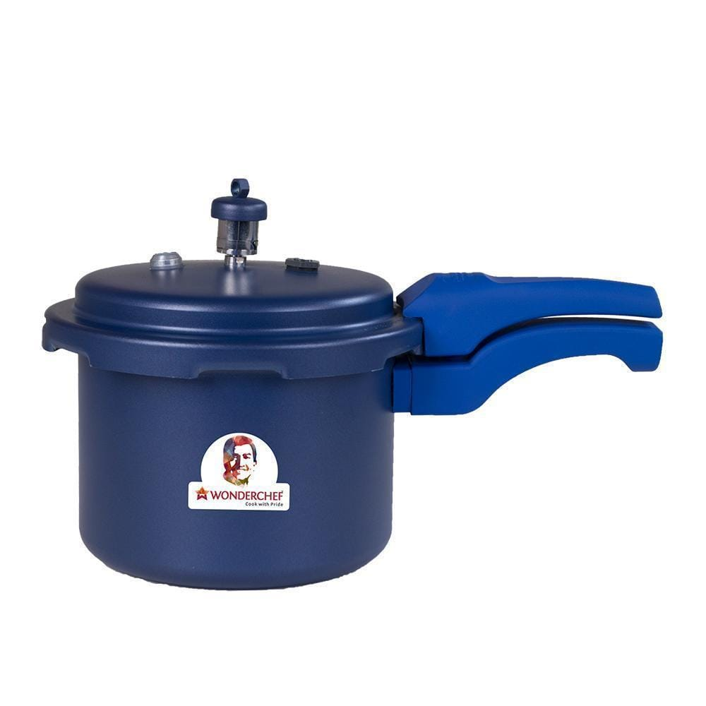 Health Guard Pressure Cooker Outer Lid 3L - Blue