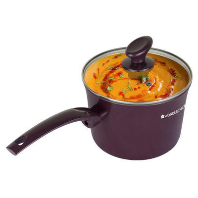 Wonderchef Everest Sauce Pan With Lid-Cookware